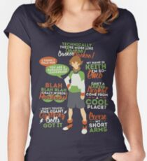 Pidge Quotes Women's Fitted Scoop T-Shirt