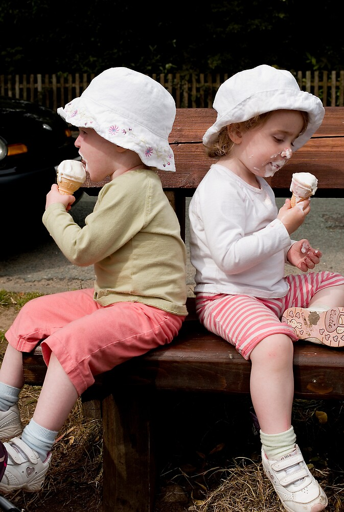 Ice cream ain't for sharing by JimWhitham