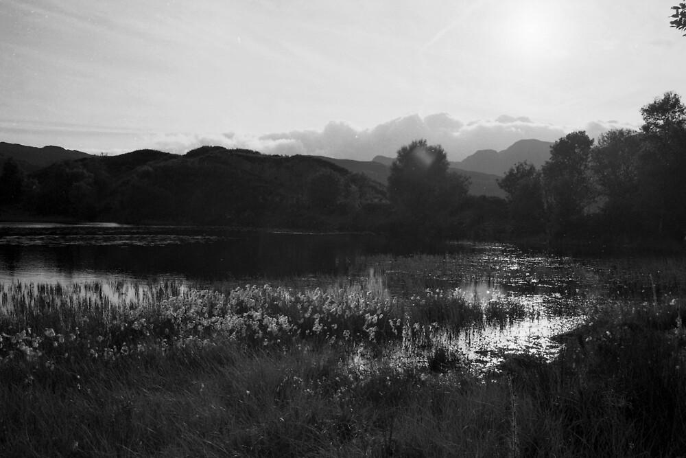Secret Lake, Snowdonia by JimWhitham