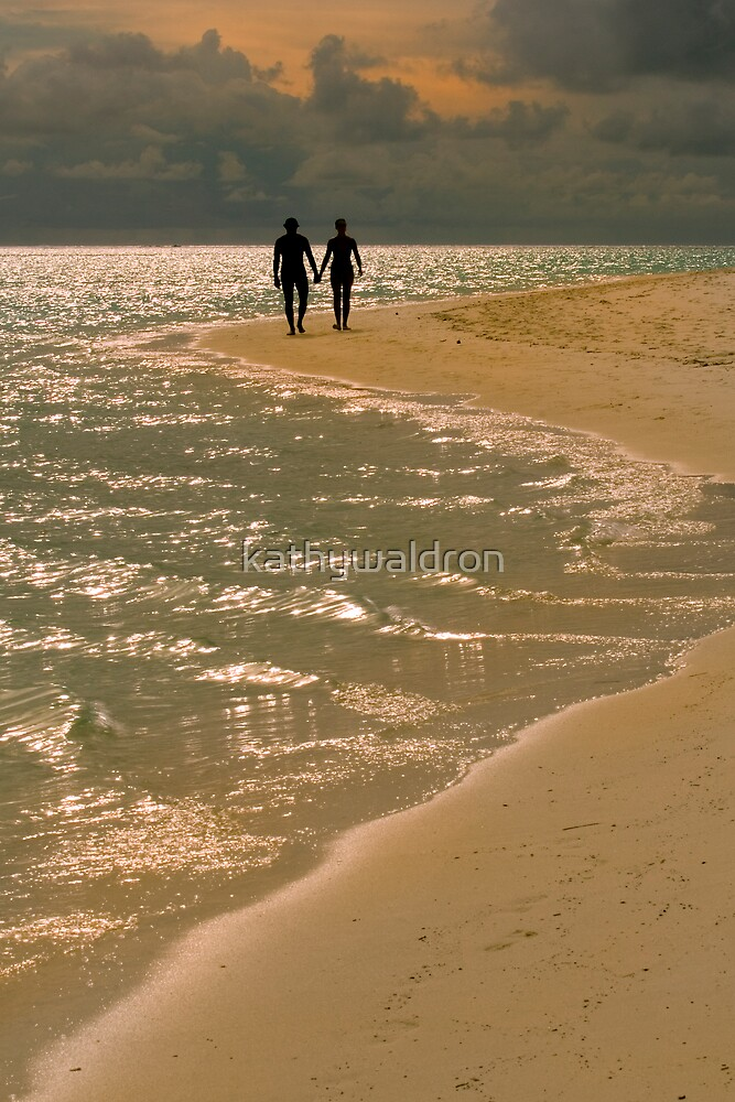 hand in hand by kathywaldron