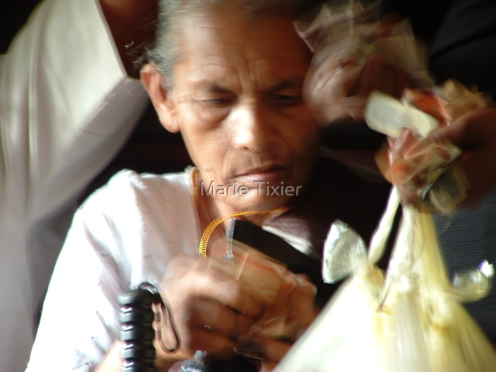 on the train to Anuradhapura by Marie Tixier