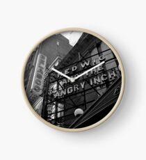 Hedwig On Broadway Clock