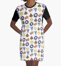 Legion Season 1 Symbols Graphic T-Shirt Dress