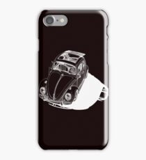 VW shadow in white iPhone Case/Skin