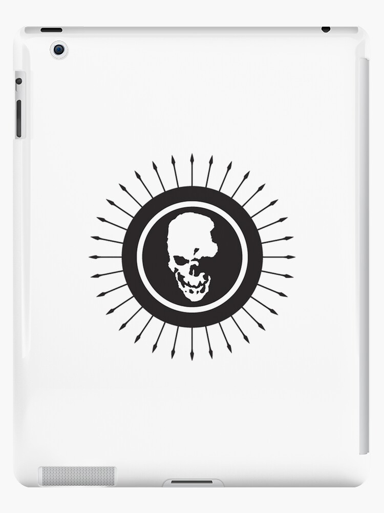 """Death Note skull logo"" iPad Cases & Skins by unorthodoxxx ..."