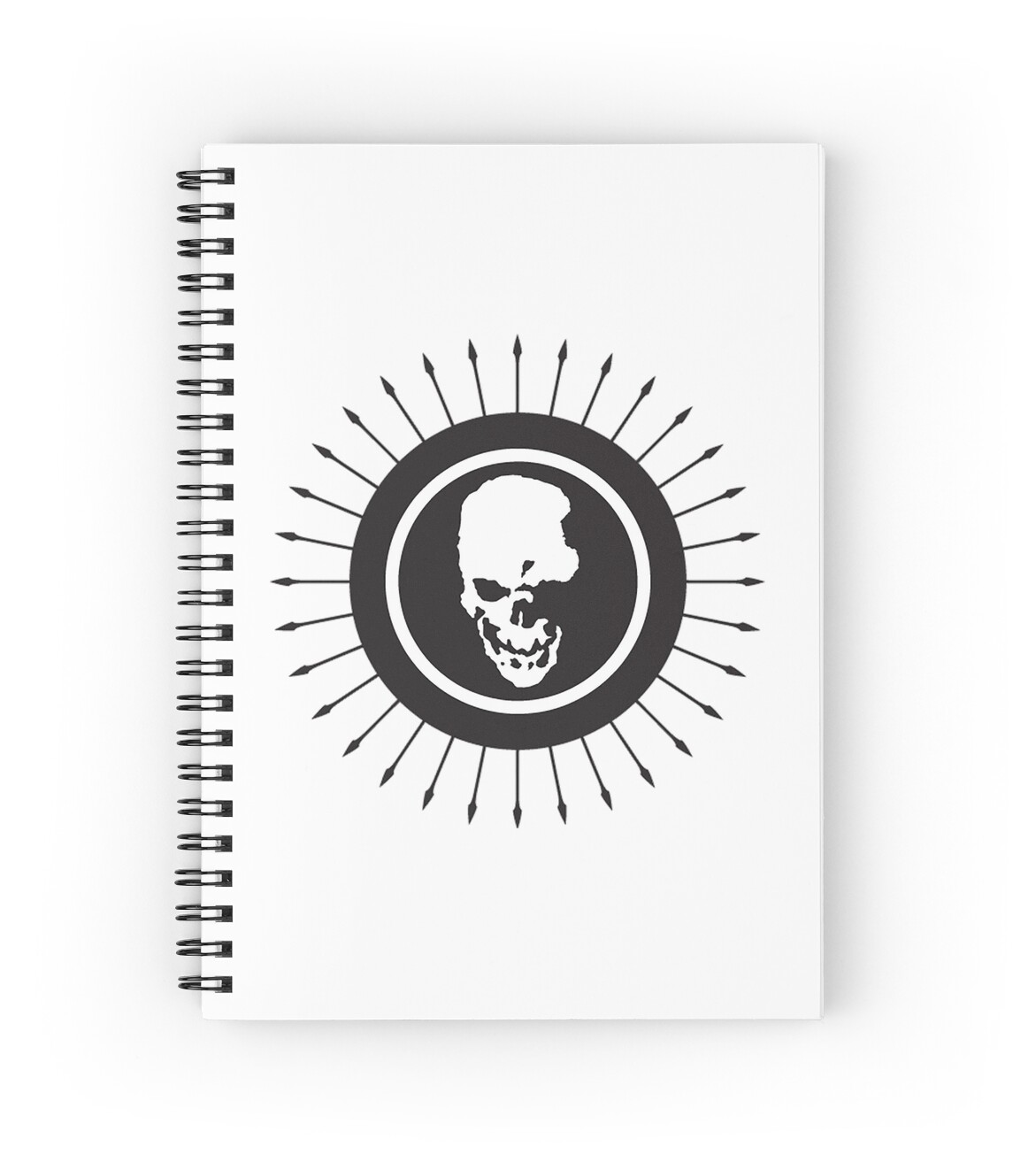 """Death Note skull logo"" Spiral Notebooks by unorthodoxxx ..."