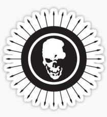 Death Note skull logo Sticker