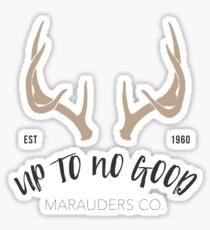 Up to no good Sticker