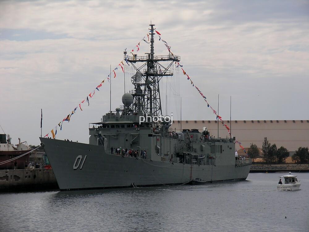 photoj S.A. Port Adelaide, Navy Ship by photoj