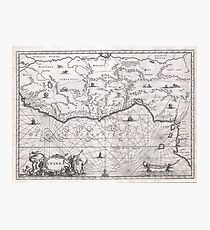 Antique Map - Ogilby's West Africa (1670) Photographic Print