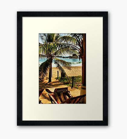 View From My Room, Days 8 & 9 Framed Print