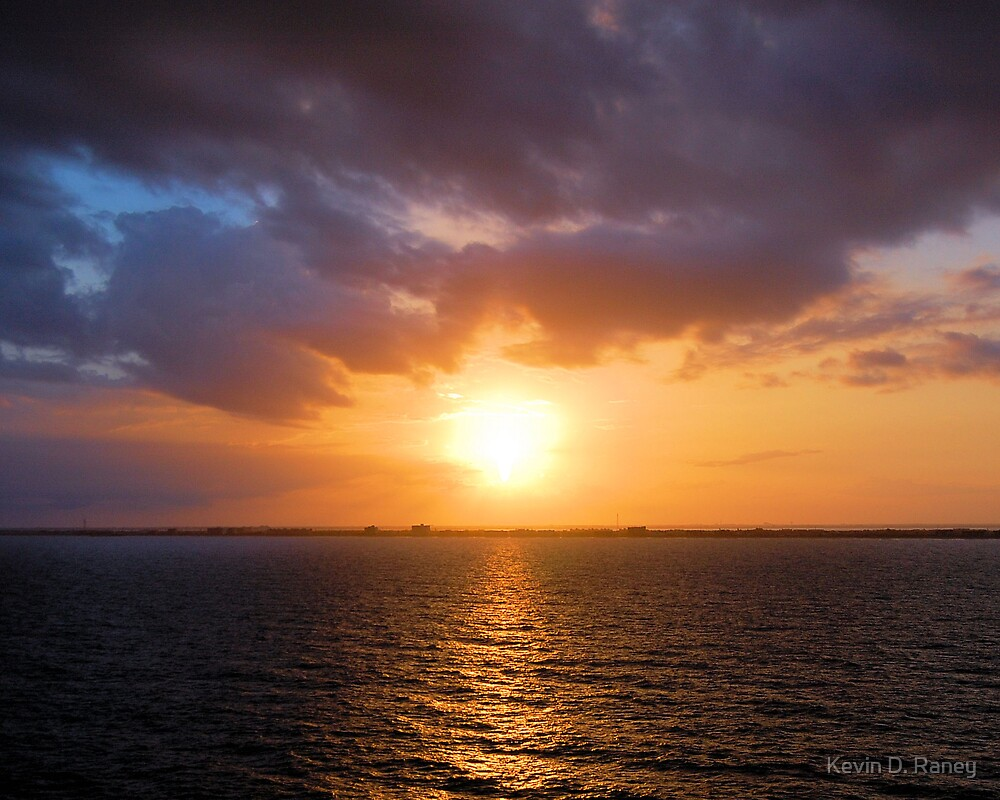 Caribbean Sunset #2 by Kevin D. Raney
