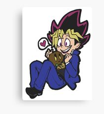 A Kuriboh and a Friend! Canvas Print