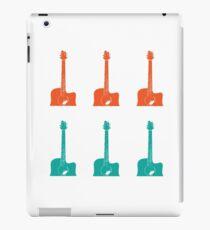 Coloured Guitars iPad Case/Skin