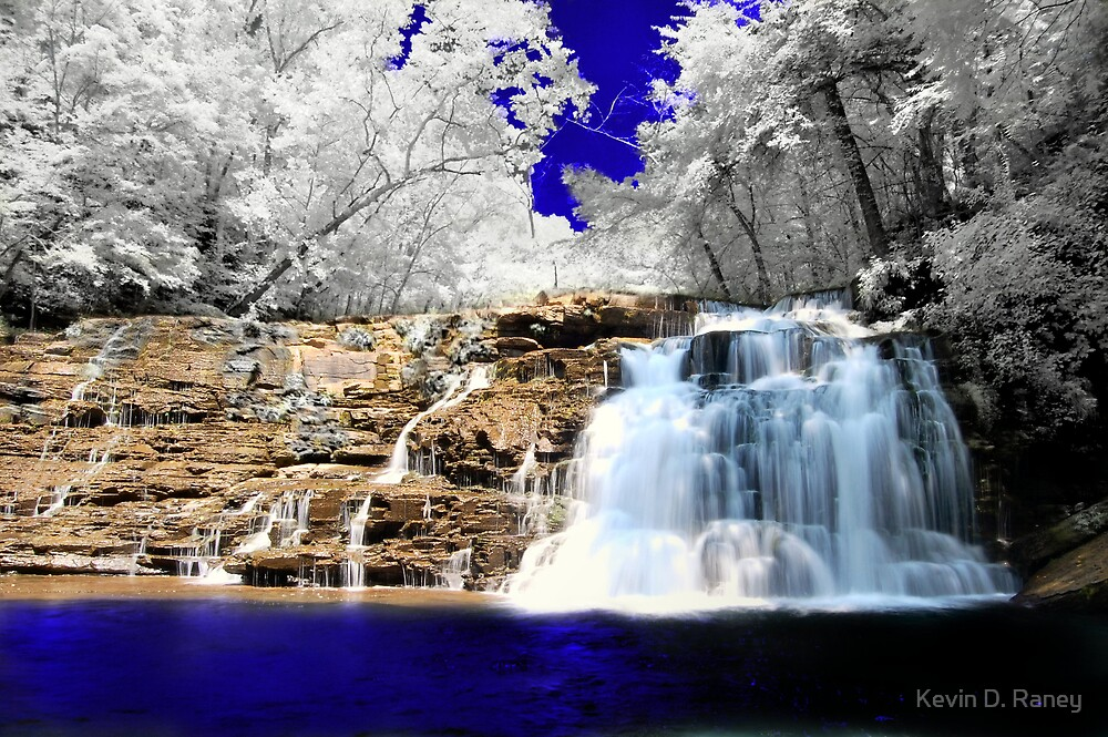 Infrared Falls by Kevin D. Raney
