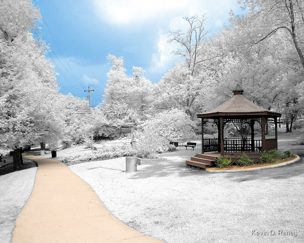 Infrared Gazebo by Kevin D. Raney