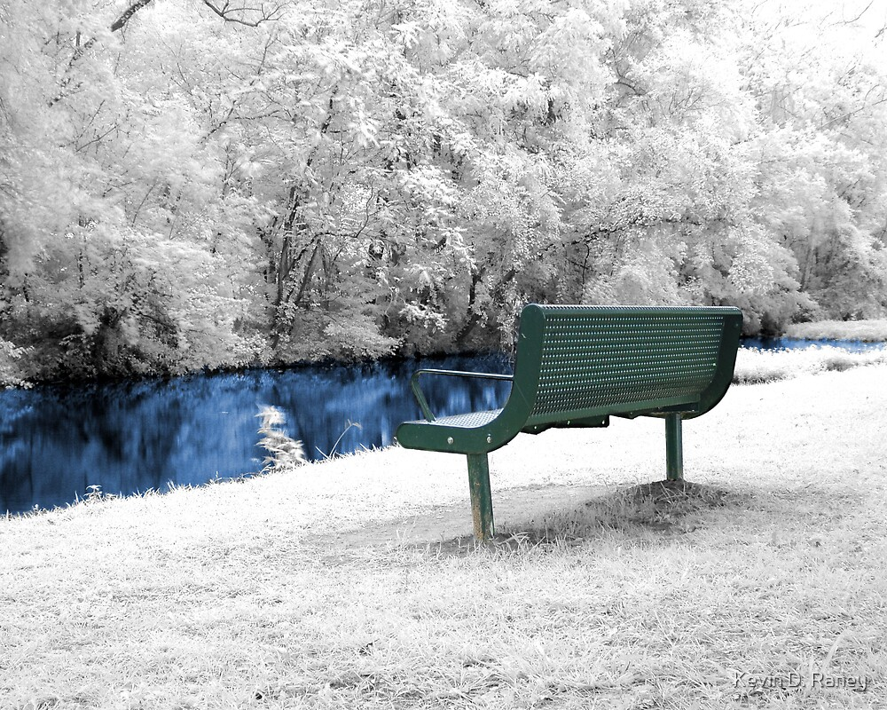 Infrared Bench by Kevin D. Raney