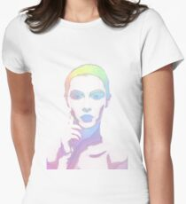 Simply Irresistible Abstract Woman Women's Fitted T-Shirt