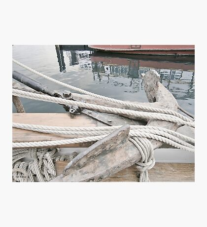 Anchored Photographic Print