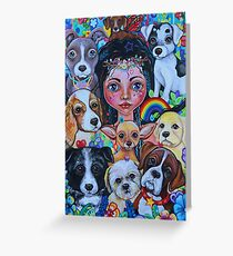Hilary the Fairy Dogmother Greeting Card