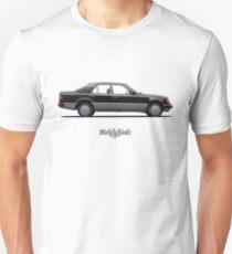 Mercedes-Benz 250 D (W124) (black) Unisex T-Shirt