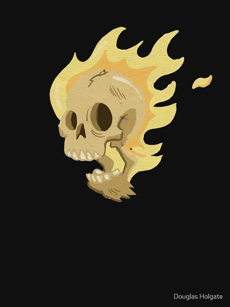Flaming Head... by douglasbot