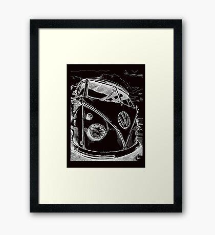 splitty Framed Print