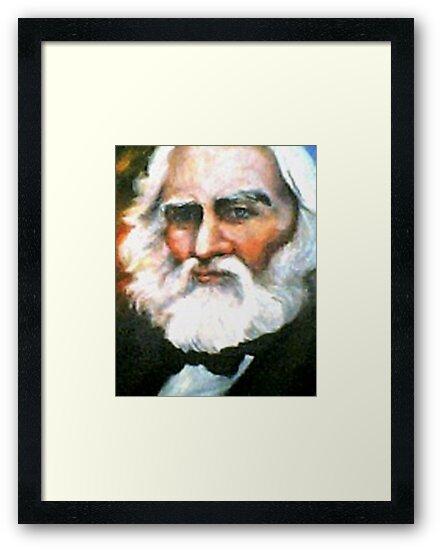 Henry Wadsworth Longfellow by Barbara Sparhawk