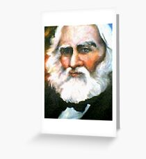 Henry Wadsworth Longfellow Greeting Card