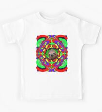 Psychedelic Sloth Kids Clothes