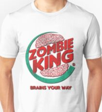 Zombie King! Brains Your Way Unisex T-Shirt