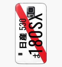 180SX Nissan Japanese Number Plate Case/Skin for Samsung Galaxy