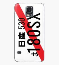 Plaque d'immatriculation japonaise Nissan 180SX Coque et skin Samsung Galaxy