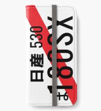 180SX Nissan Japanese Number Plate iPhone Wallet/Case/Skin