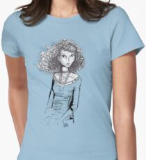 Well Then Womens Fitted T-Shirt