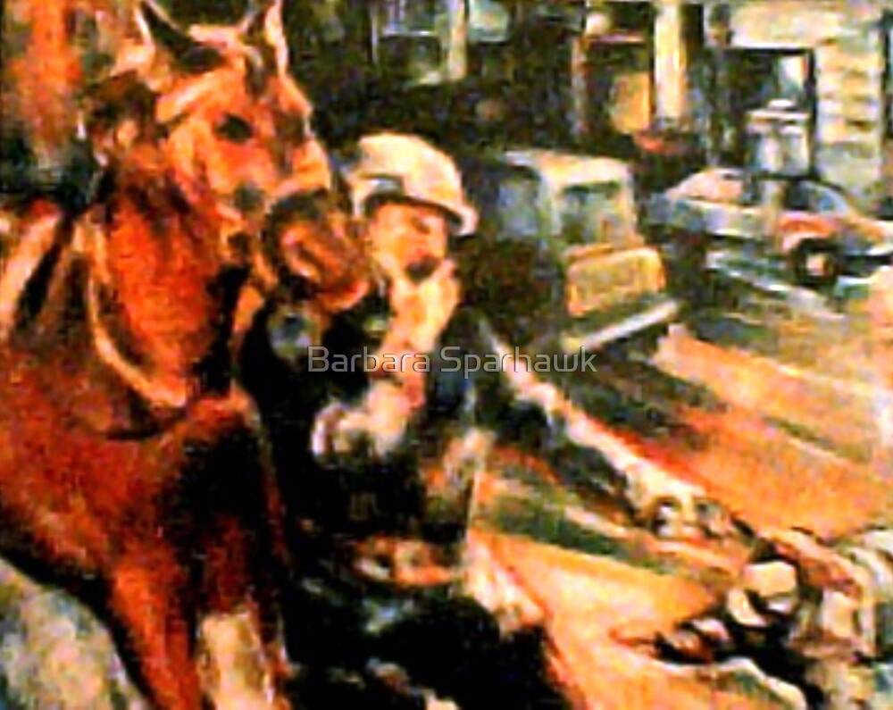 Murder at Modell's Department Store, NYPD Mounted Div. Gets Perp by Barbara Sparhawk