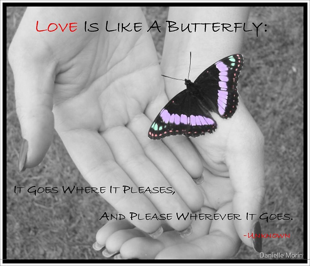 Love is like... by Danielle Morin