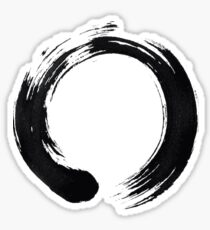 Zen Enso Circle Sticker