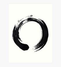 Zen Enso Circle Art Print