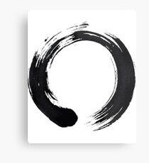 Zen Enso Circle Metal Print
