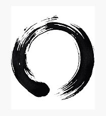 Zen Enso Circle Photographic Print