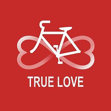 True Love Biking de kellabell9