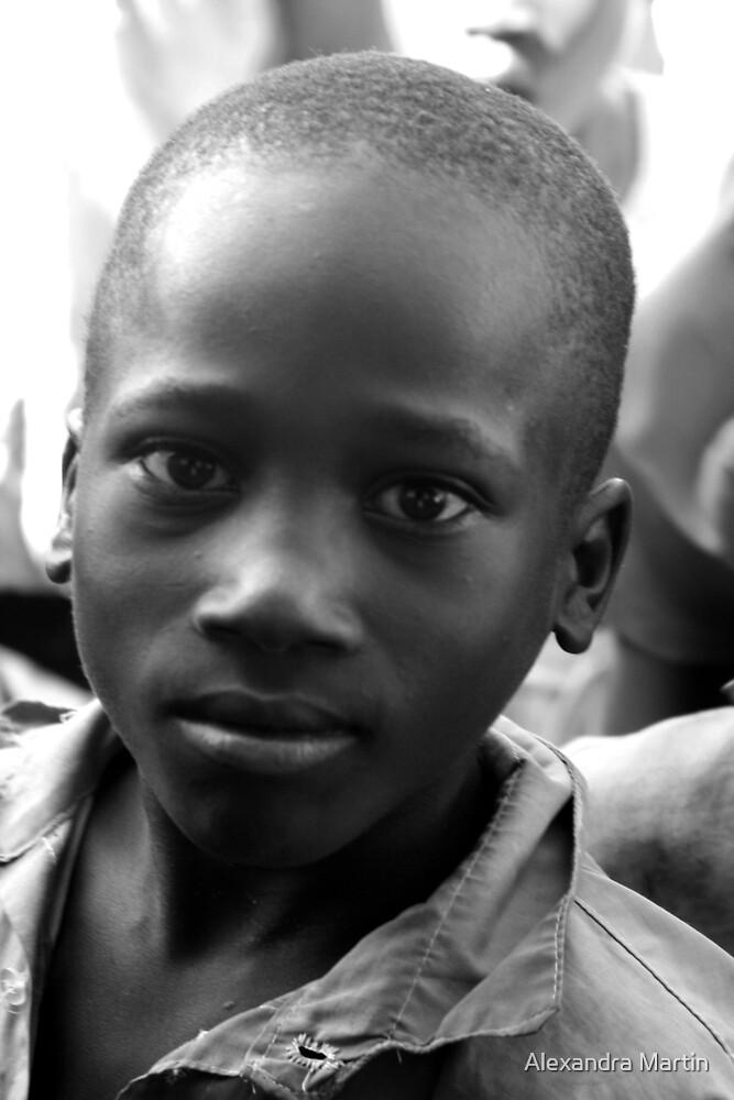 School Boy 2 by Alexandra Martin