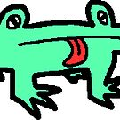 Paint Pals - Froggo by vitheghost