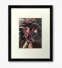 Tom Waits Saturday night Framed Print