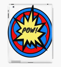 RETRO CLASSIC COMIC POW! iPad Case/Skin
