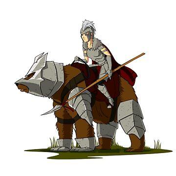 Bear rider by zangetsuBankai