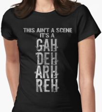 GAH! DEH! ARH! REH! Women's Fitted T-Shirt