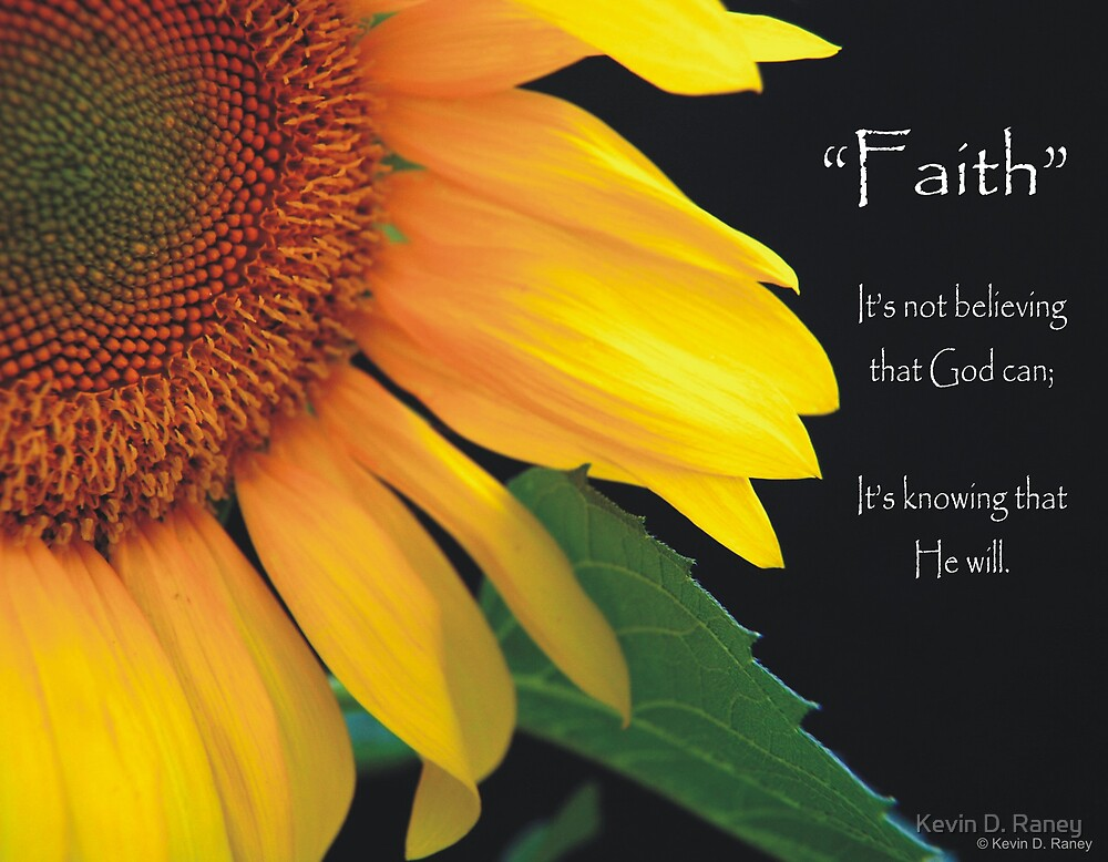 Faith by Kevin D. Raney