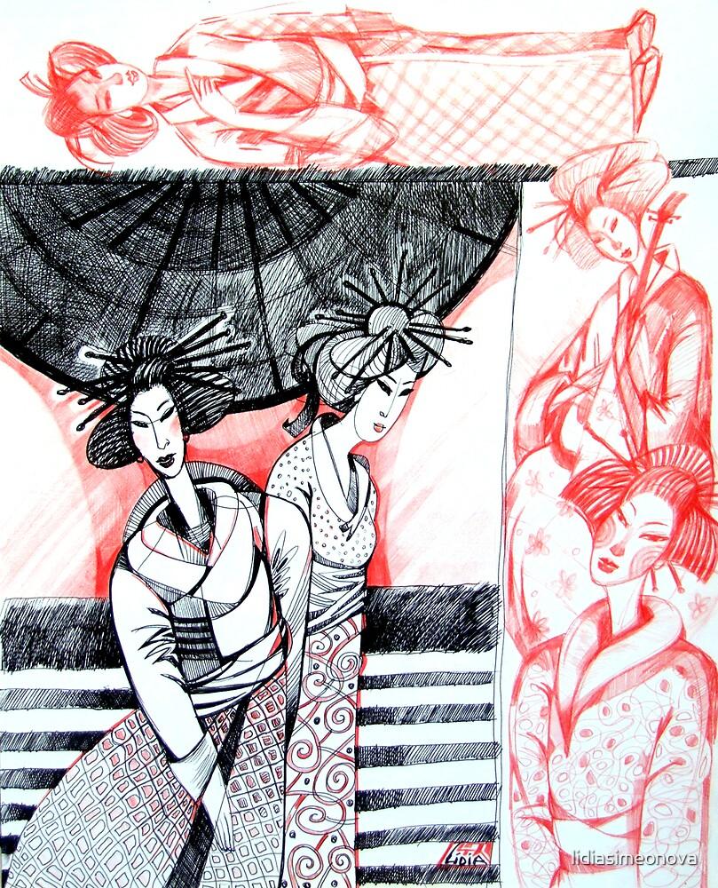 In Japan II by lidiasimeonova